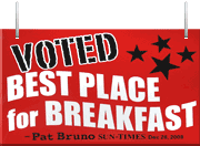 Voted best breakfast