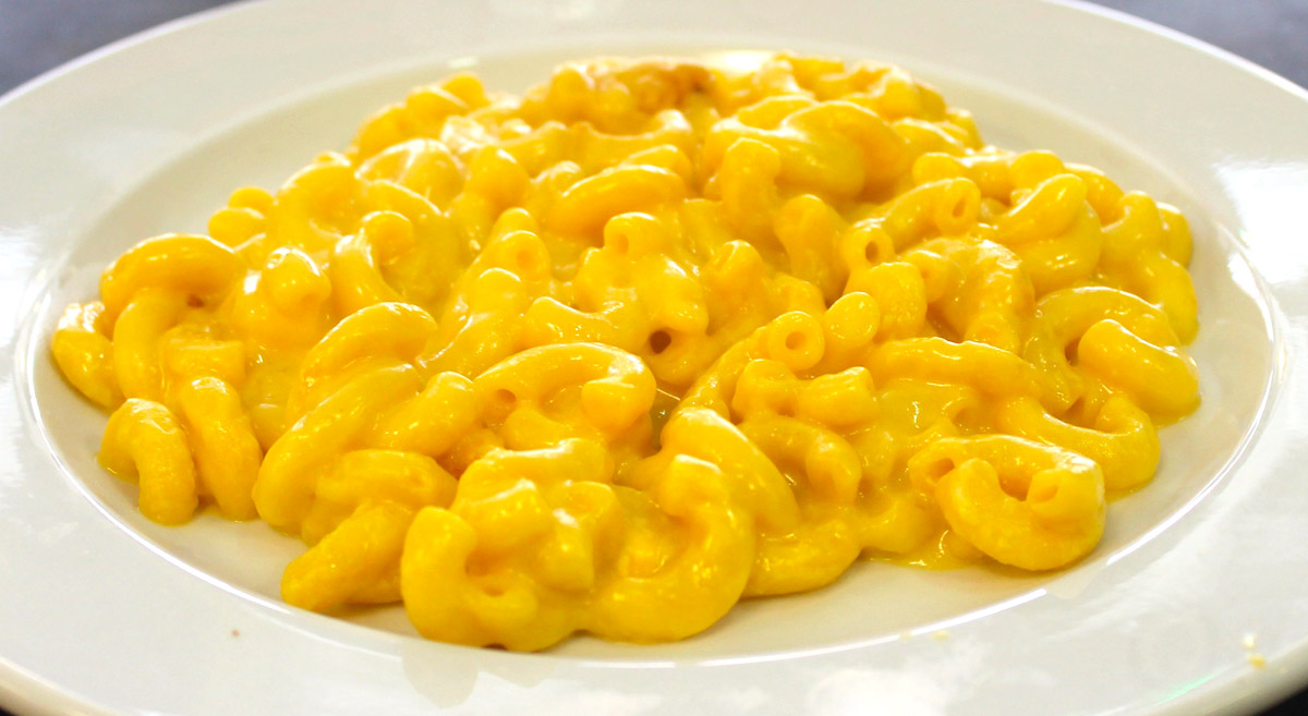 Palace Grill's Famous Macaroni and Cheese