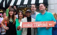 George Lemperis Way street designation for Palace Grill
