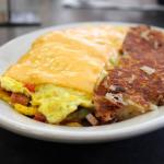 "Our Famous ""Denver & Hash Browns"""