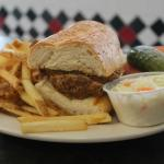 Meat Loaf Sandwich & Fries