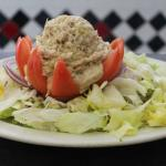 Stuffed Tomato w/ Tuna Salad