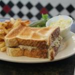 Tuna Sandwich & Fries